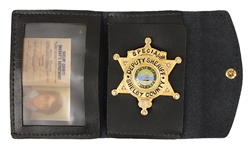 Elvis Presley Owned Original Shelby County Special Deputy Sheriffs Badge