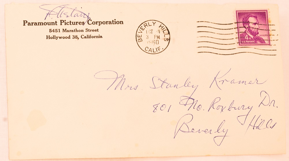 Entertainment Memorabilia Cheap Sale Stanley Kramer Signed Letter