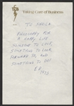 "Elvis Presley Handwritten & Initialed ""Philosophy for a Happy Life"" Note to His Girlfriend Sheila Ryan On His TCB Letterhead"