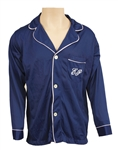 "Elvis Presley Owned & Worn ""EP"" Blue Pajama Top"