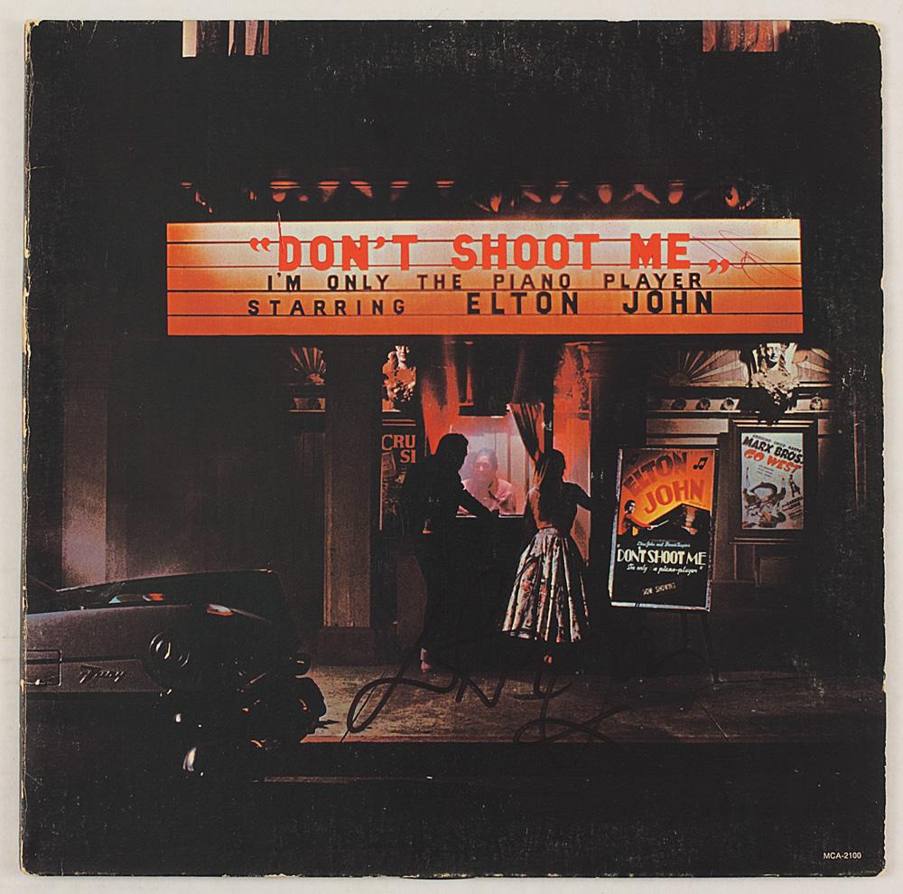 ... Elton John Signed