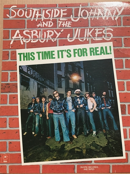 "Southside Johnny and the Asbury Jukes Large Promotional Mobile for Second Album ""This Time Its For Real"""
