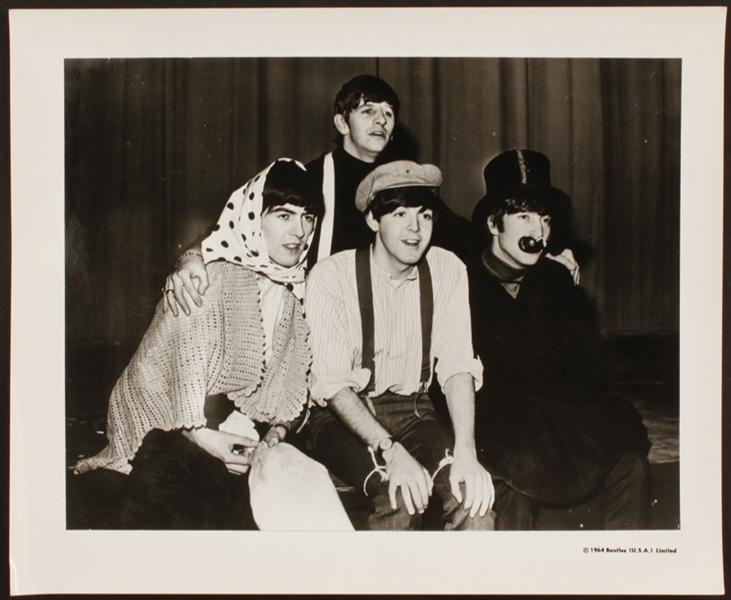 Beatles Original Publicity Photograph