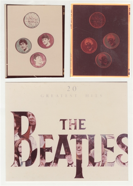 Beatles 20 Greatest Hits Original C.D. Production Used Artwork