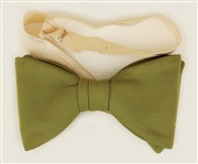 Michael Jackson Jackson 5 Stage Worn Green Bow Tie