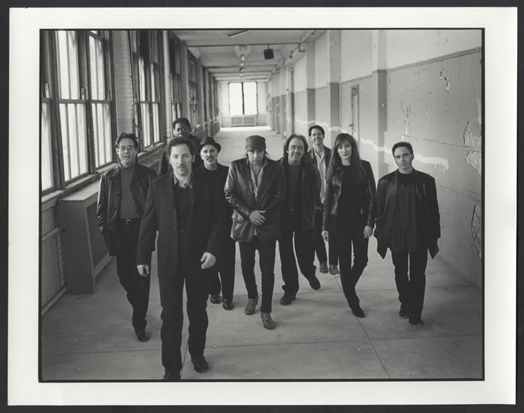 Bruce Springsteen & The E Street Band Original David Rose 14 x 11 Vintage Silver Gelatin Print