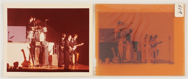 Beatles Original Photograph and Negative