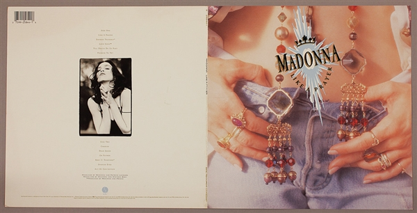 Madonna Like A Prayer Original Album Cover Artwork