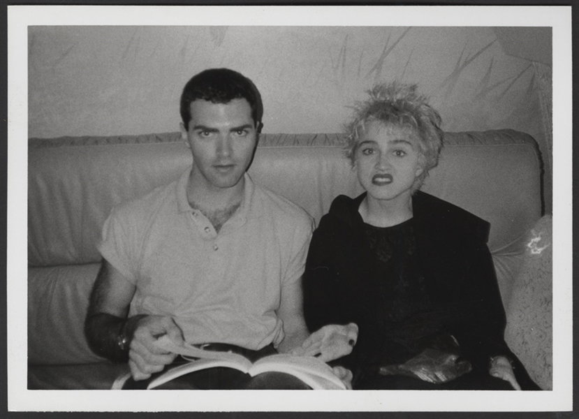 "Madonna ""Whos That Girl"" Original Photograph With Her Brother Christopher"