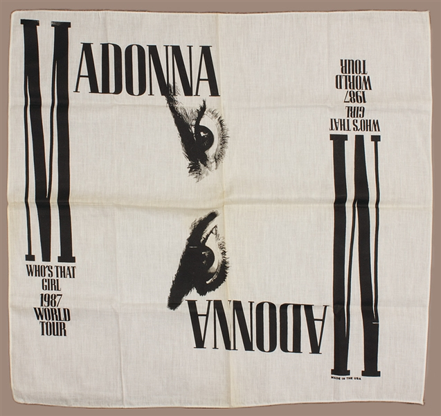 Madonna Who's That Girl Original Tour Scarf