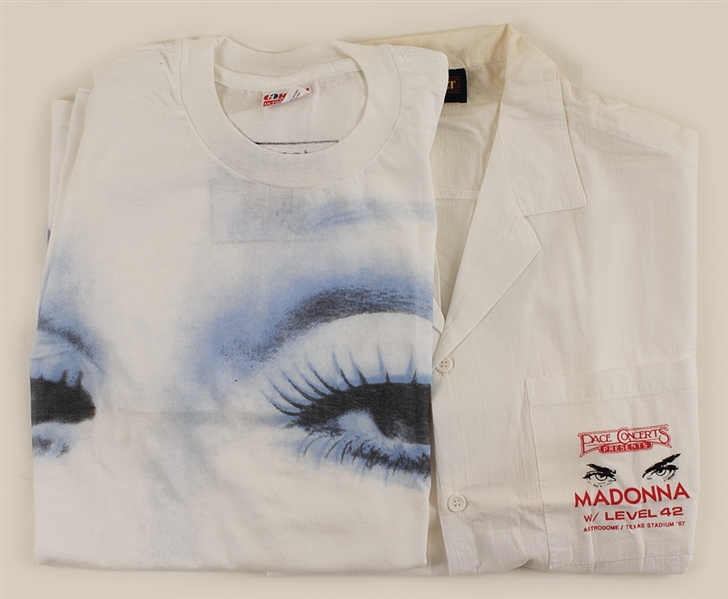 "Madonna ""Whos That Girl"" Original Tour Shirts"