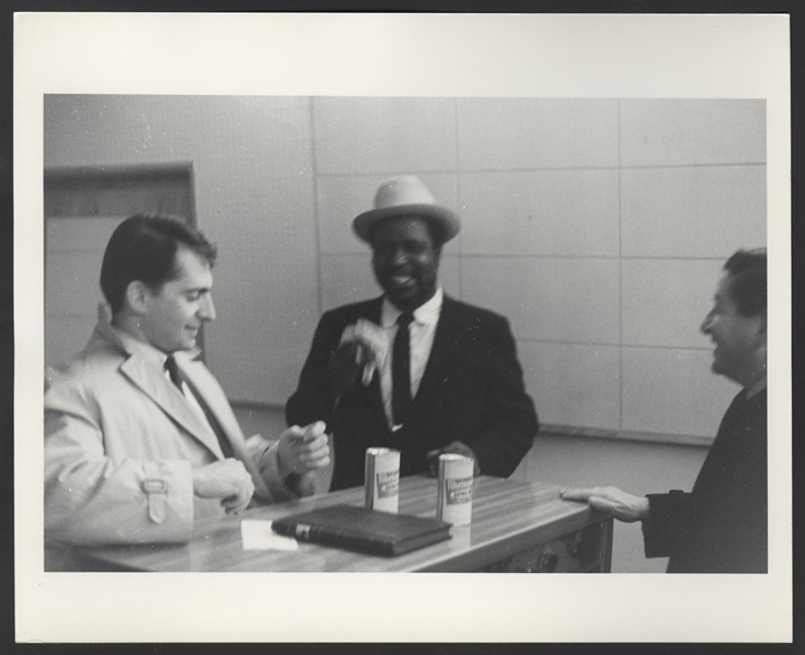 Thelonious Monk Original Quackenbush Photograph