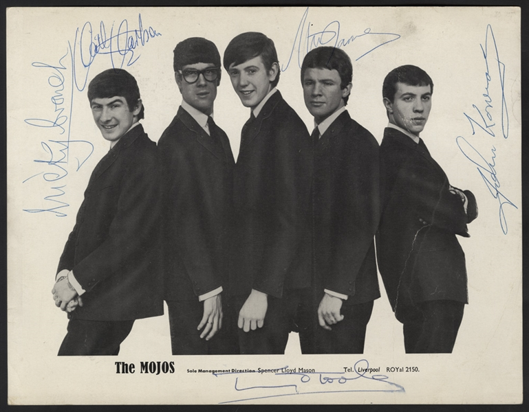 The Mojos Signed Original Photograph
