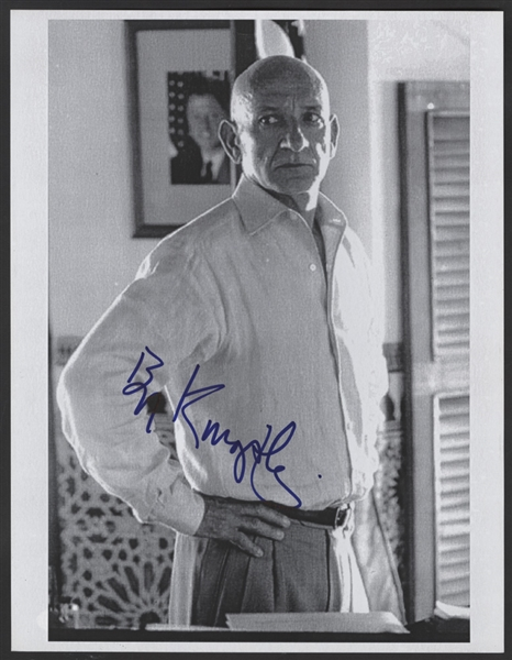 Ben Kingsley Signed Photograph