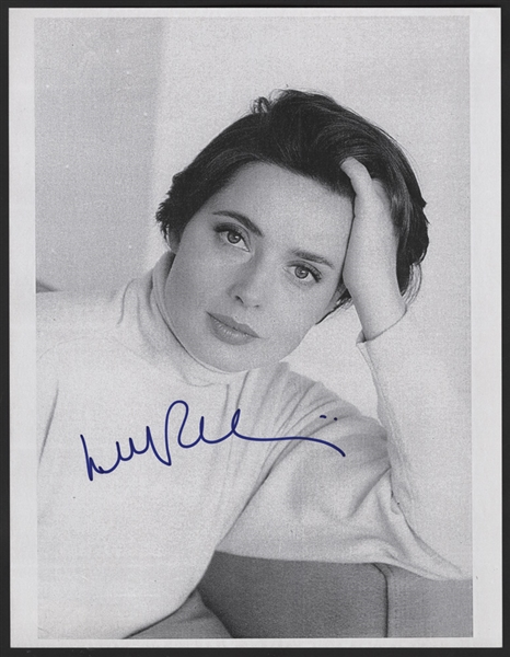 Isabella Rossellini Signed Photograph