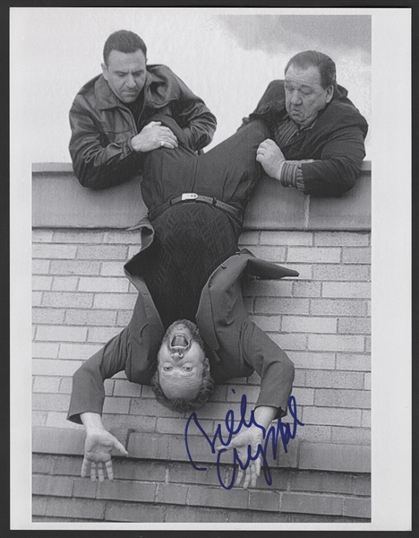 Billy Crystal Signed Analyze This Photograph