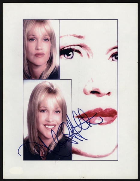 Melanie Griffith Signed Photograph