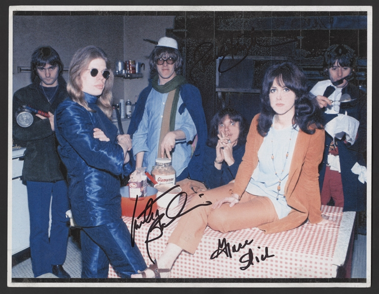 Jefferson Airplane Signed Photograph