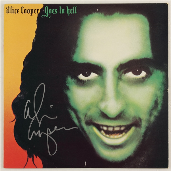 Alice Cooper Signed Alice Cooper Goes To Hell Album