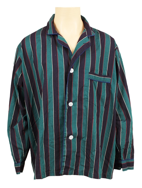 Michael Jackson Owned and Worn  Pajama Top