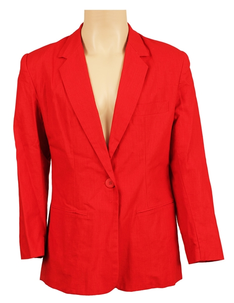 Michael Jackson Owned and Worn Red Jacket