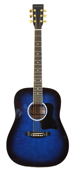 Jeff Lynne Signed Guitar