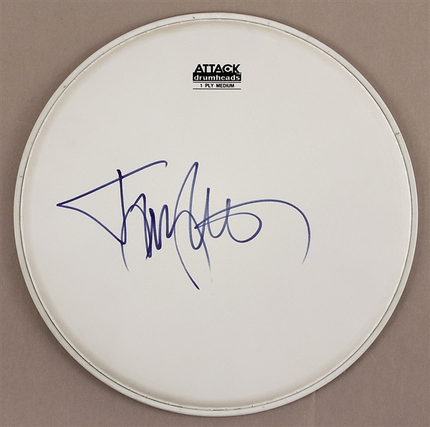 Motley Crue Tommy Lee Signed Drum Head
