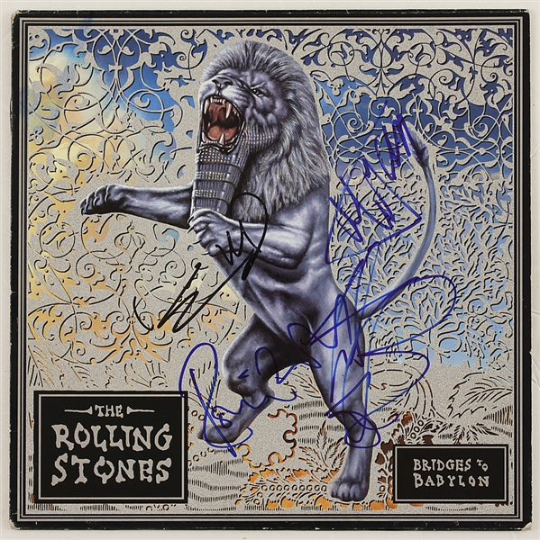 "Rolling Stones Signed ""Bridges to Babylon"" Album"