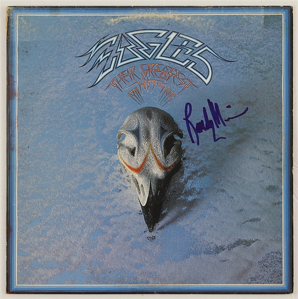 "Eagles Randy Meisner Signed ""Eagles Their Greatest Hits"" Album"