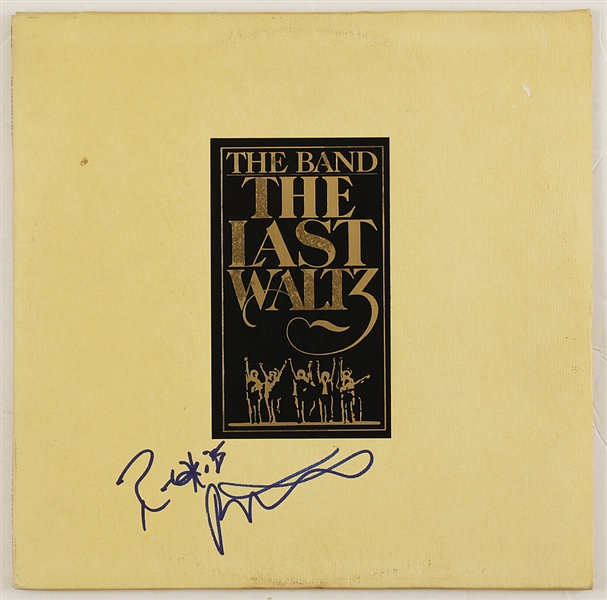 "The Band Robbie Robertson Signed ""The Last Waltz"" Album"