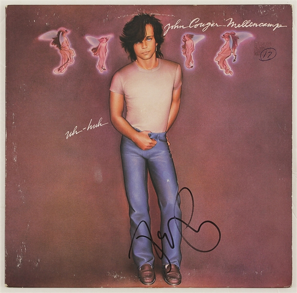 "John Mellencamp Signed ""Uh-Huh"" Album"