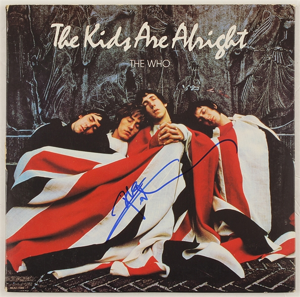 "The Who Pete Townshend Signed ""The Kids Are Alright"" Album"