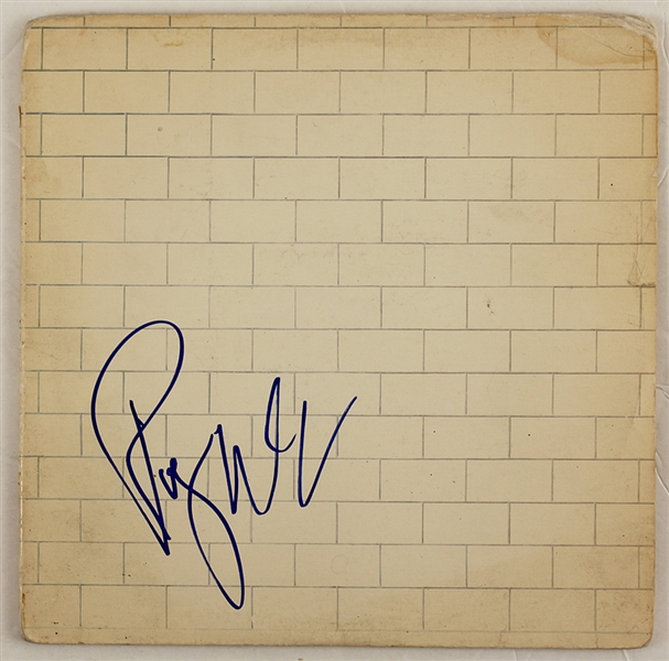 Pink Floyd Roger Waters Signed The Wall Album