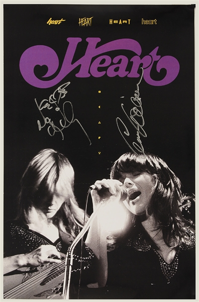Heart Signed 11 x 17 Original Promotional Poster