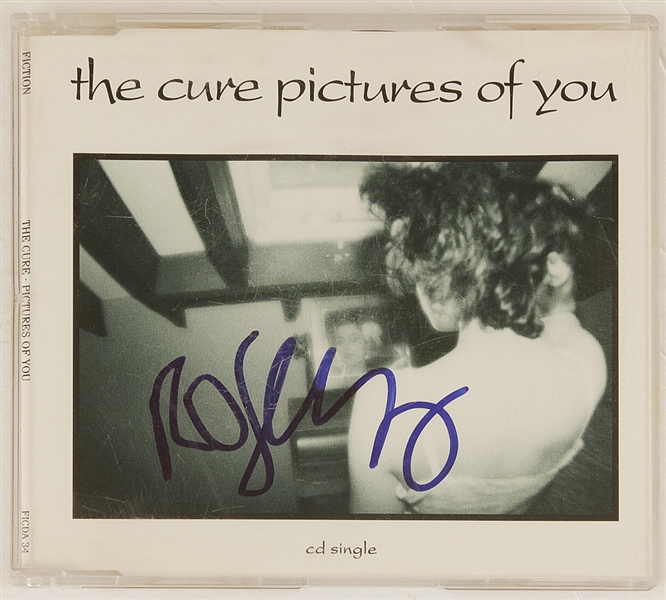 "The Cure Robert Smith Signed ""Pictures of You"" C.D."