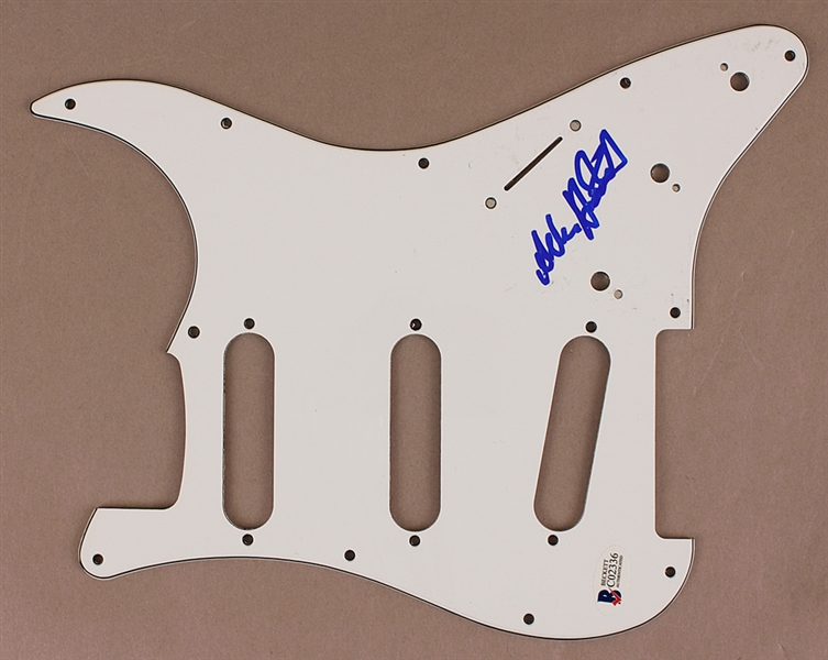 Alan Holdsworth Signed Pickguard