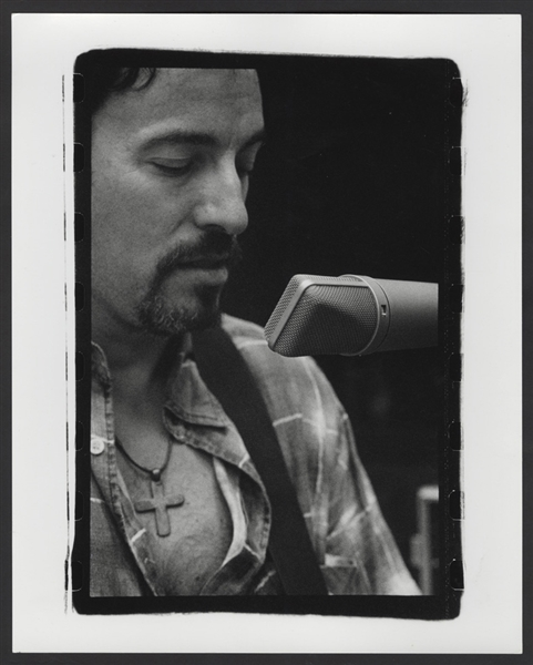 Bruce Springsteen Original Neal Preston Stamped Photograph