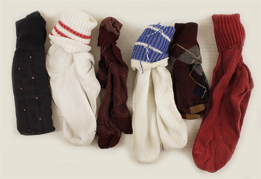 Michael Jackson Owned and Worn Socks