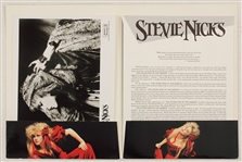 "Stevie Nicks ""The Other Side of the Mirror"" Original Press Kit from the Herbert Worthington Estate"