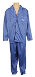 "Elvis Presleys Owned & Worn Blue Pajamas with his Embroidered ""EP"" Initials"