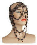 "Beyonce ""Hymn for the Weekend"" Music Video Worn Custom Made Couture Face Chain"