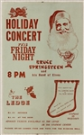 "Bruce Springsteen and ""His Band of Elves""at The Ledge 1971 Original Concert Poster"