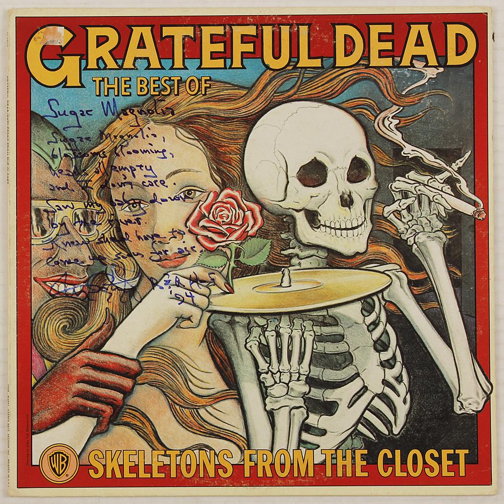 Skeletons In The Closet Grateful Dead Lot Detail Grateful Dead Tom Constanten Quot Sugar