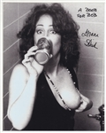 Jefferson Airplane Grace Slick Signed & Inscribed Photographic Print