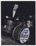"Beatles Andy White Signed and ""Love Me Do"" Inscribed Photograph"
