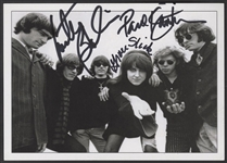 Jefferson Airplane Signed Postcard