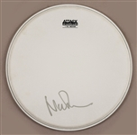 Pink Floyd Nick Mason Signed Drum Head