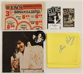 Elvis Presley Stage Worn Canary Yellow Scarf