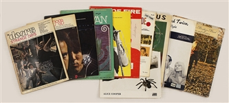 Collection of Songbooks and Sheet Music featuring The Doors, The Allman Brothers Band and More