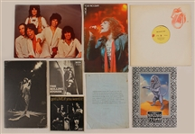 Rolling Stones Original Promotional Collection, Programs and Records